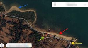 скриншот пляжа Доньи Муричи