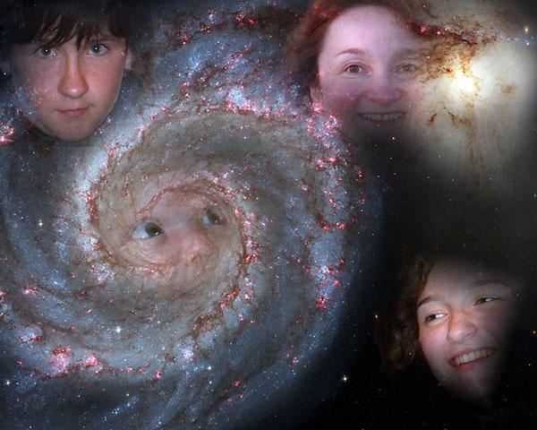 галактика моей семьи