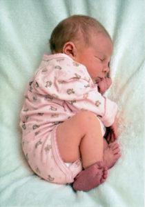 флексорная поза новорожденного