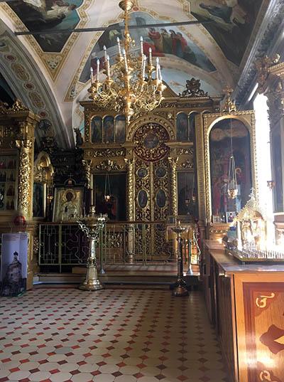 богоявленская церковь внутри вертикально