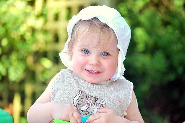 счастливый ребенок