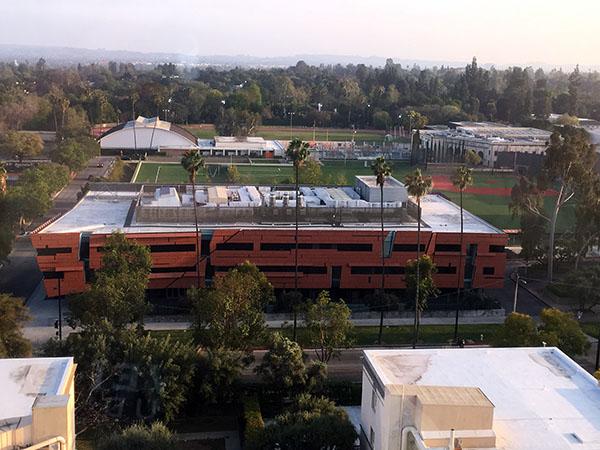 астрономический корпус и стадион