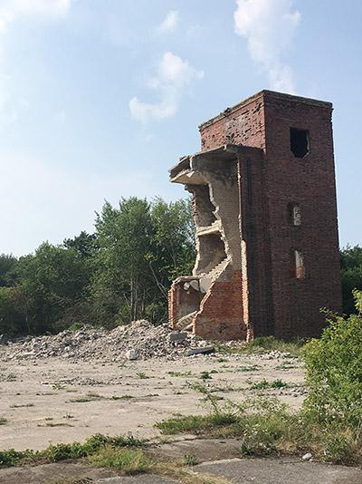 снесенные здания